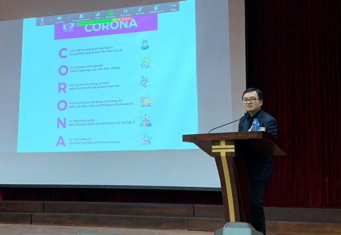 Bác sỹ Vũ Quốc Đạt giảng về corona