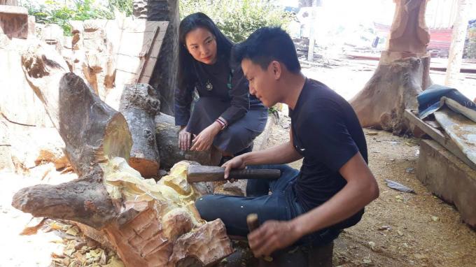 PGS.TS Trang Thanh Hiền có niềm đam mê vớiPhật giáo cổ đại Việt Nam.
