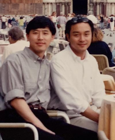 Trương Quốc Vinh và Đường Hạc Đức.
