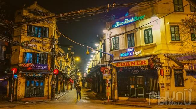 Đầu phố Tạ Hiện