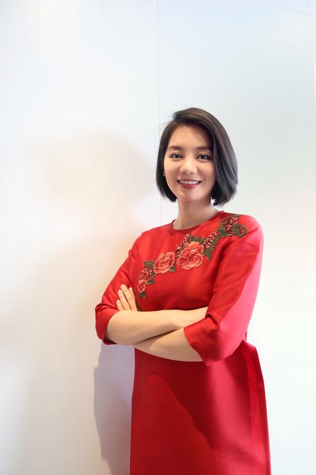 Chị Hoàng Diễm Huyền – đại diện Viện Sức khỏe nghề nghiệp và môi trường - Chủ nhiệm dự án