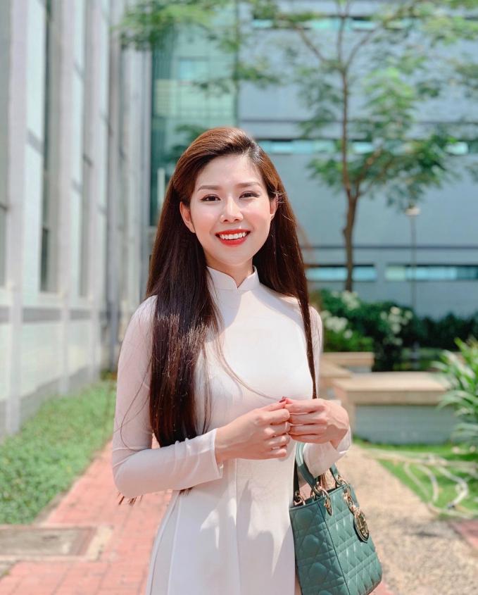 Gương mặt khả ái nữ doanh nhân Tuệ Nghi
