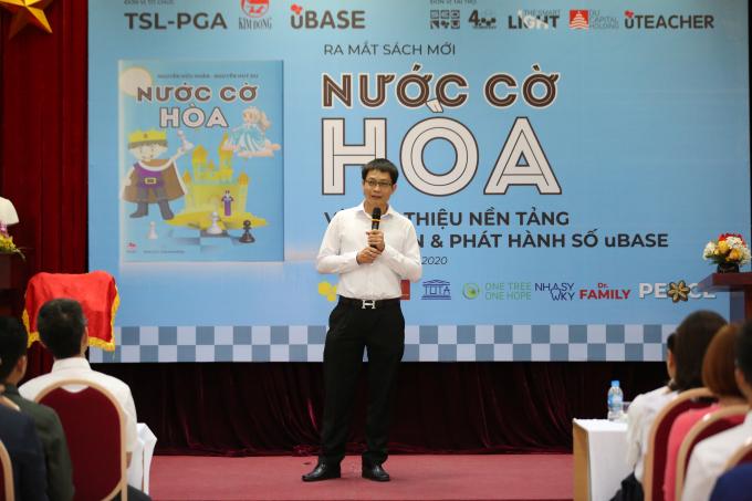 Ông Nguyễn Hữu Huấn- Đồng tác giả của
