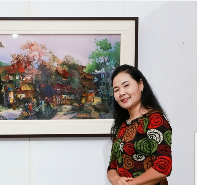 Họa sĩ Trần Thanh Thục