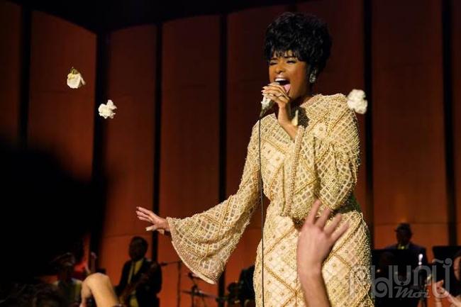 """""""Huyền thoại nhạc soul"""" Aretha Franklin lần đầu được tái hiện trên màn ảnh lớn trong phim tiểu sử RespectMột Huyền Thoại"""