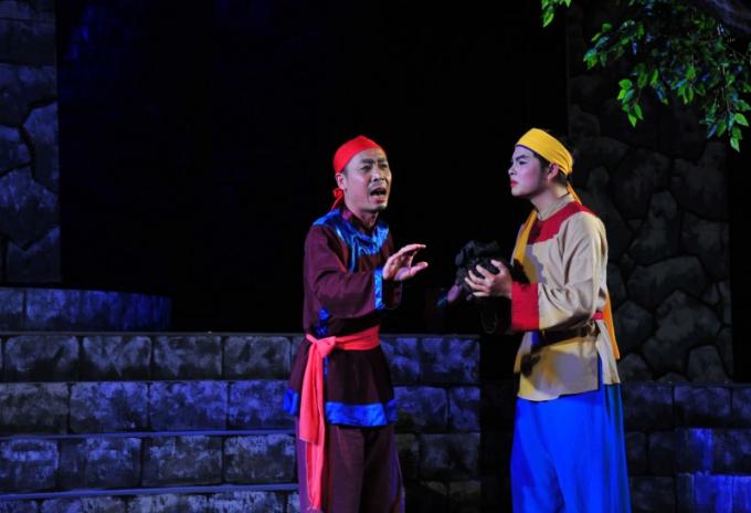 Trích đoạn vở chèo Người con của Vạn Thắng Vương do Nguyễn Toàn Thắng viết kịch bản