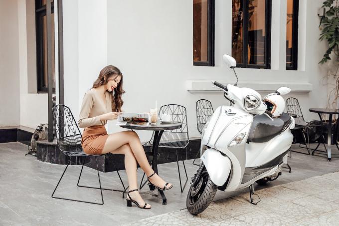 """Yamaha tung ưu đãi siêu """"khủng""""các mẫu xe tay ga dành cho phái nữ"""