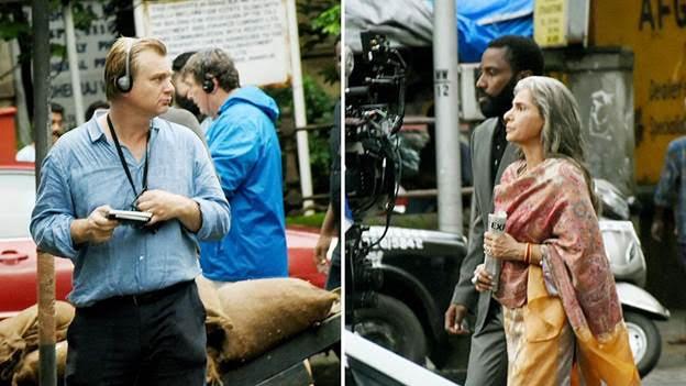 Đoàn làm phim có mặt tại Mumbai.
