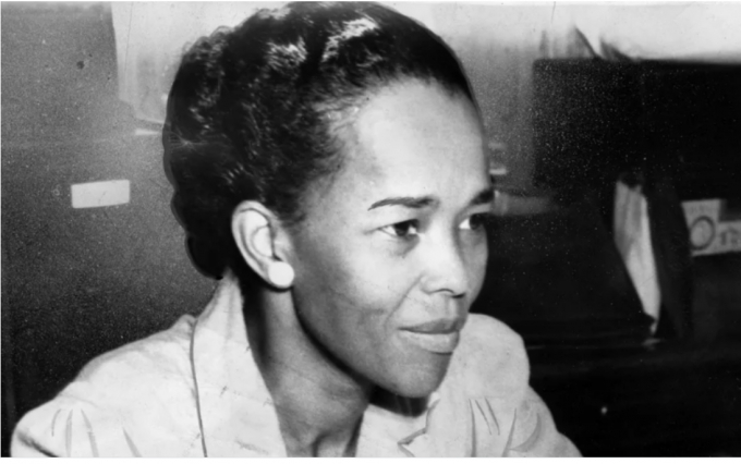 Bà Ella Baker năm 1941 khi bà là một đại diện của NAACP. Ảnh: Getty Images