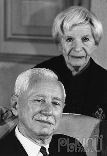 Will Durant và vợ Ariel