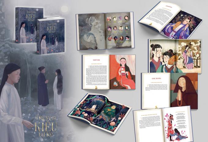 Truyện Kiều tự kể - Tác phẩm mới nhất của Cao Nguyệt Nguyên