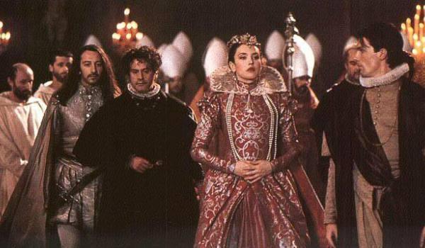 Margot và người tình La Mole trongphim Queen Margot năm 1994qua phần thể hiện của 2 diễn viên nổi tiếng Isabelle Adjani và Vincent Perez