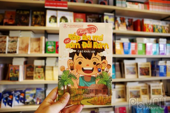Con trai 12 tuổi của nhà văn Nguyễn Ngọc Tư kể chuyện Bắp ăn mơ và xóm Đồi Rơm