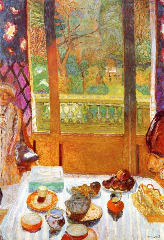 """Tác phẩm """"Phòng ăn sáng"""" của Bonnard đem đến sự thân mật, gần gũi"""