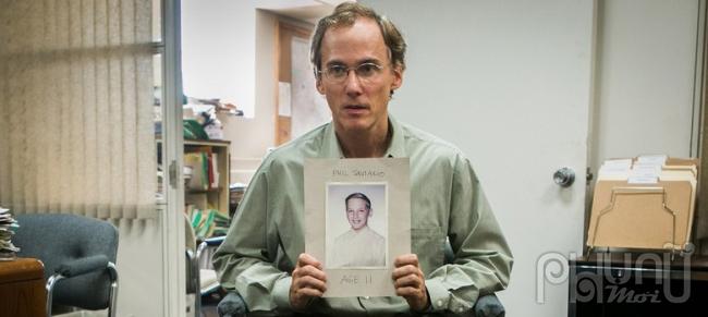 Một trong những nạn nhân của tội ác ấu dâm trong nhà thờ tại Boston (ảnh trong phim)