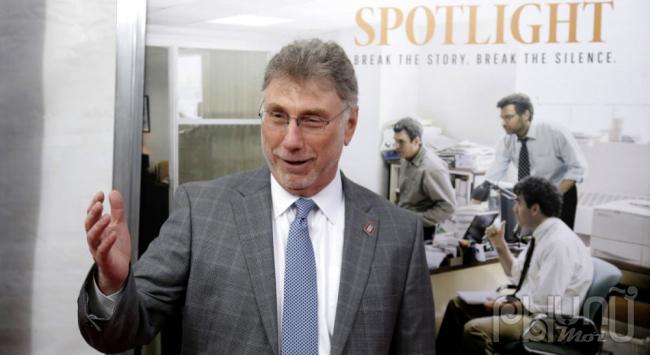 Marty Baron, chủ bút của The Boston Globe ngoài đời