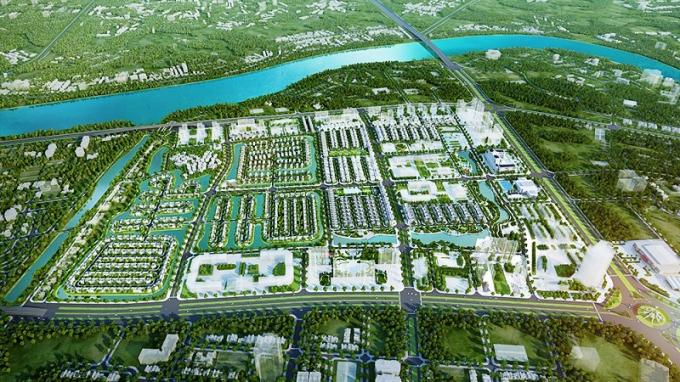 Phối cảnhdự án Vinhomes Star City Thanh Hóa