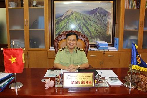 Ông Nguyễn Văn Hùng,quyền Cục trưởng Cục QLTT Thanh Hóa