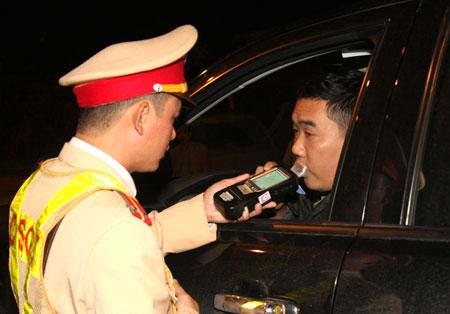 Phạt hơn 3.100 tài xế vi phạm nồng độ cồn trong 7 ngày nghỉ tết