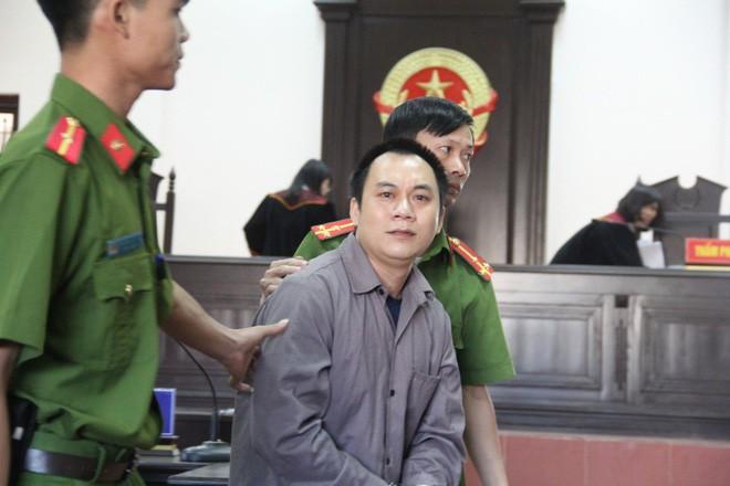 Bị cáo Lê Ngọc Hoàng (tài xế container)