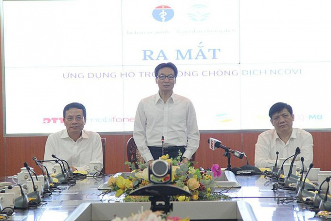 Phó Thủ tướng phát biểu tại buổi lễ (ảnh mic.gov.vn)