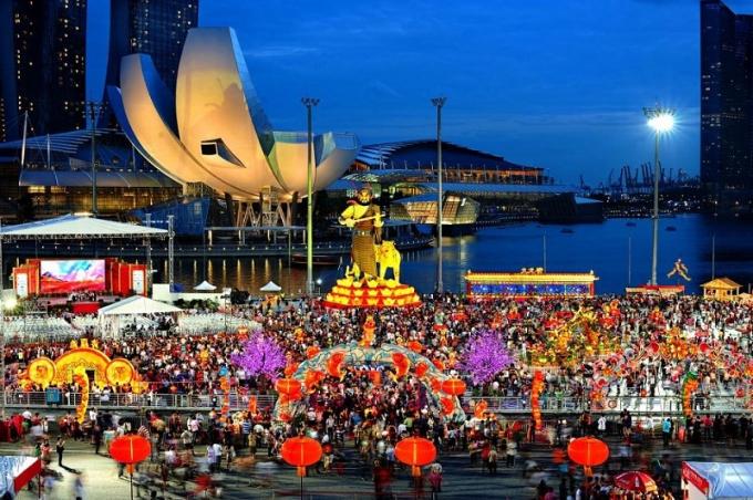Ngày Tết âm tại Singapore diễn ra gần như cùng lúc với Việt Nam