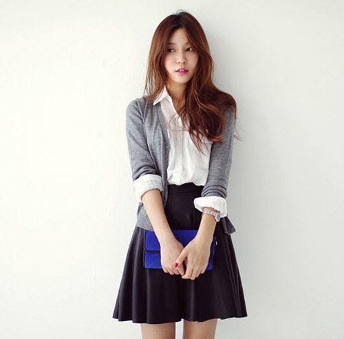 Áo khoác cardigan len dễ dàng kết hợp, phồi đồ cực đơn giản mà lại hợp thời trang.