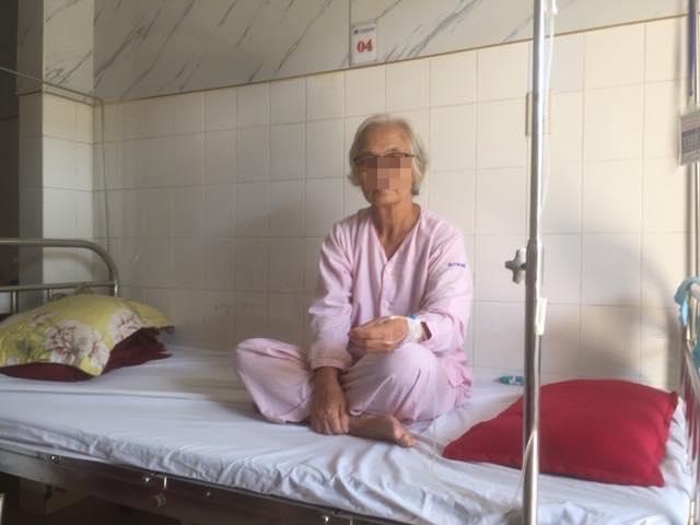 Bệnh nhân N.T.P (67 tuổi, ở TP. Huế) nhập viện cấp cứu ngày 20/10 trong tình trạng xuất huyết tiêu hóa.