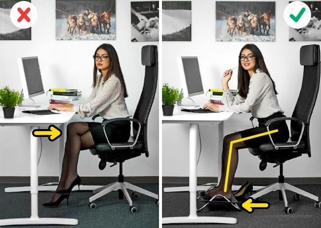 Ngồi vắt chéo chân gây ra nhiều loại bệnh hơn bạn nghĩ.