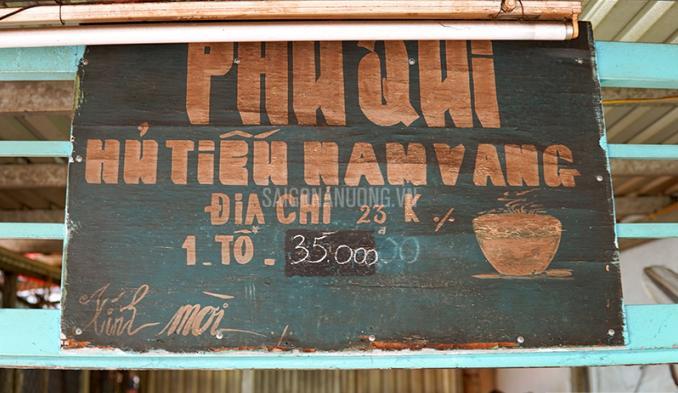 Tiệm hủ tiếu Nam Vang Phú Quí lâu đời giữa khu phố Miên, Sài Gòn.