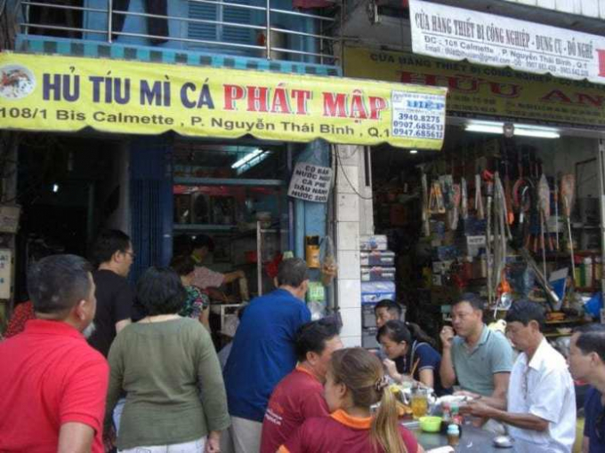 Quán hủ tíu có tuổi đời 75 năm tạiSài Gòn, đông nghịt khách mỗi ngày.
