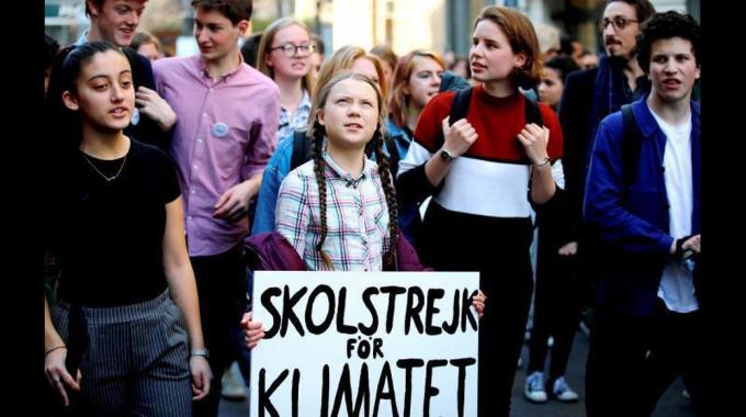 Greta Thunberg đã tạo ra ảnh hưởng tích cực đến cộng đồng giới trẻ trên toàn thế giới.