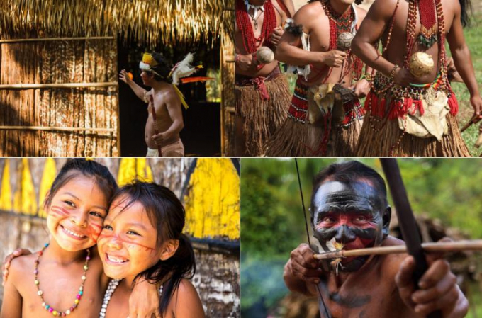 TờThe Suntừng khẳng định còn rất nhiều bộ lạc đang sống ẩn dật bên trong khu rừng và không giao tiếp với thế giới bên ngoài. Cho tới nay, người ta mới tìm ra khoảng 350 ngôi làng của các bộ tộc sinh sống trong rừng. Họ vẫn duy trì các lối sống từ xưa như cúng tế, săn bắn...