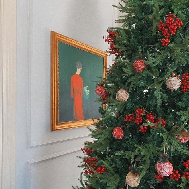 Từ cuối tháng 11,Tăng Thanh Hàđã chuẩn bị đâu vào đấy cho ngày lễ Giáng sinh, chưa năm nào