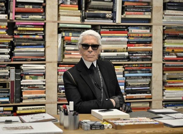 Karl Lagerfeld được cho là đã làm việc liên tục trước khi mất.