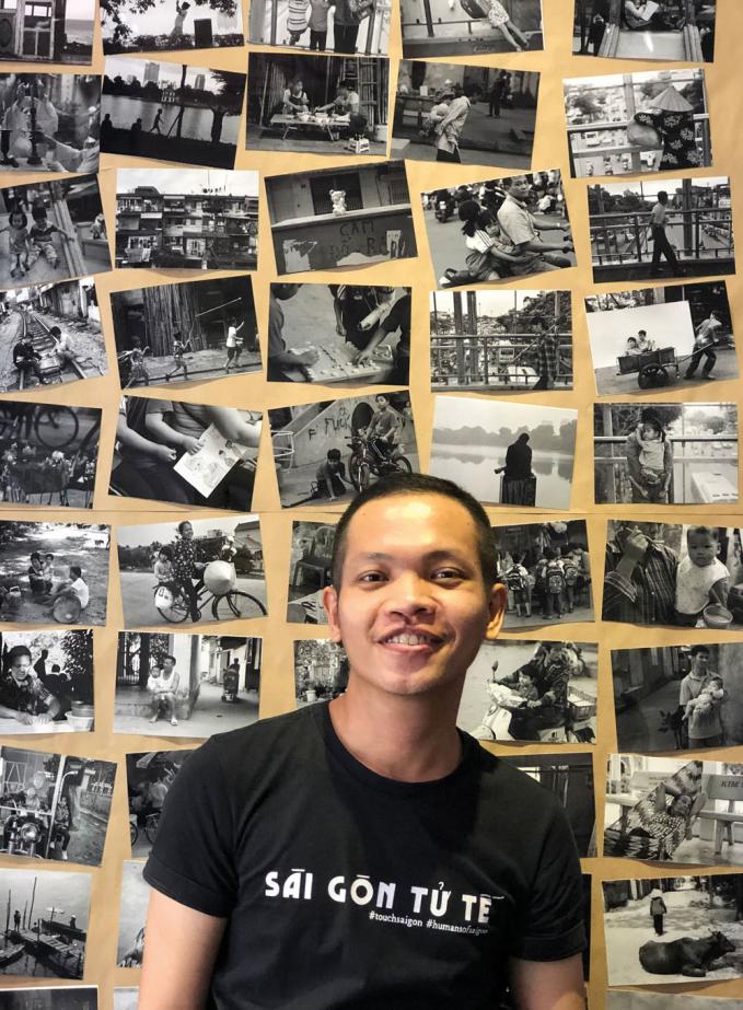 Nguyễn Luận và những bức ảnh trong dự án