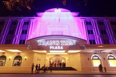 Công ty Imexpan Pacific của tập đoàn IPP đã rót 400 tỷ đồng vào Tràng Tiền Plaza.