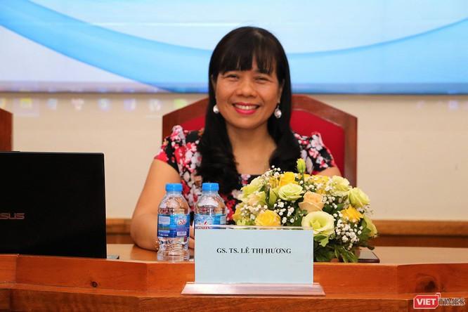 GS.TS. Lê Thị Hương - Viện trưởng Viện Đào tạo Y học Dự phòng và Y tế công cộng, Trường Đại học Y Hà Nội.