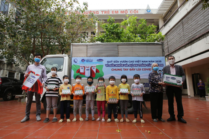 Nhiều chương trình được Vinamilk thực hiện hướng đến trẻ em có hoàn cảnh khó khăn, đối tượng rất cần được quan tâm, chăm sóc.
