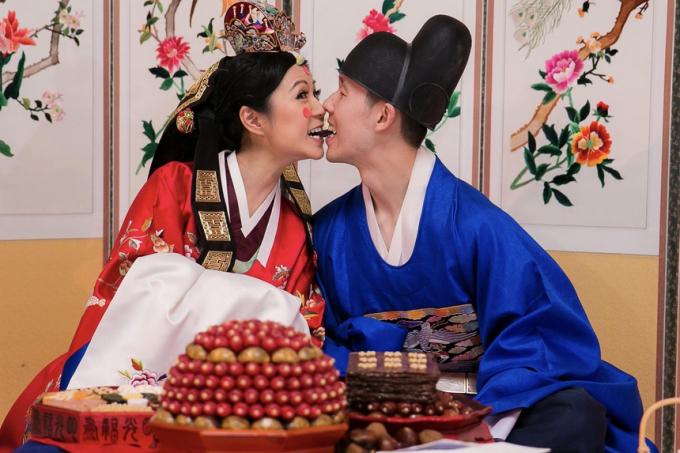 Một đám cưới chồng Hàn vợ Việt ở Seoul. Ảnh: Internet.