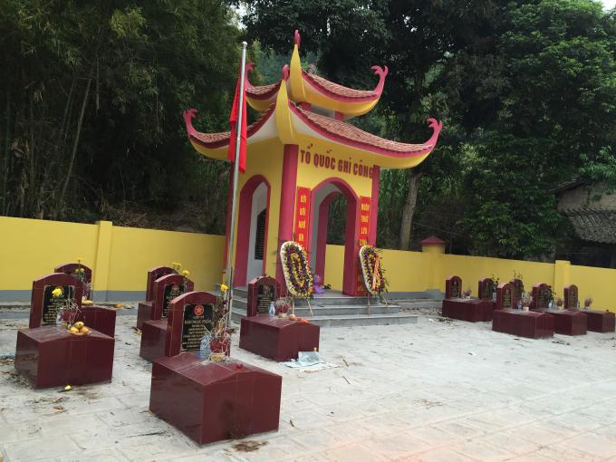 Nghĩa trang TNXP mở đường Hạnh Phúc tại huyện Yên Minh