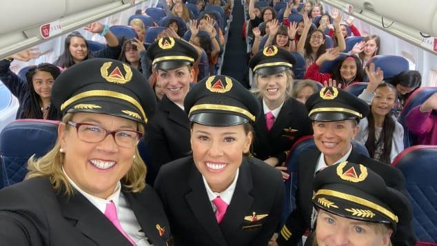 Chuyến bay toàn nữ giới của Delta
