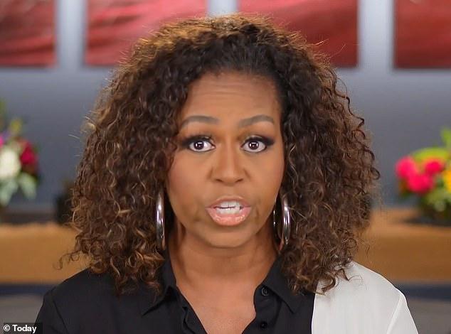 Bà Michelle Obama trong đoạn video phát trên NBC khi công bố tin sẽ đến Việt Nam