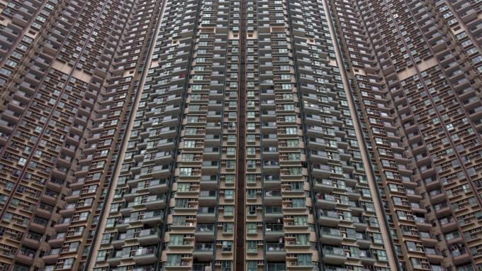 Những đường sọc của các toà nhà là nguyên nhân khiến chúng ta đau đầu