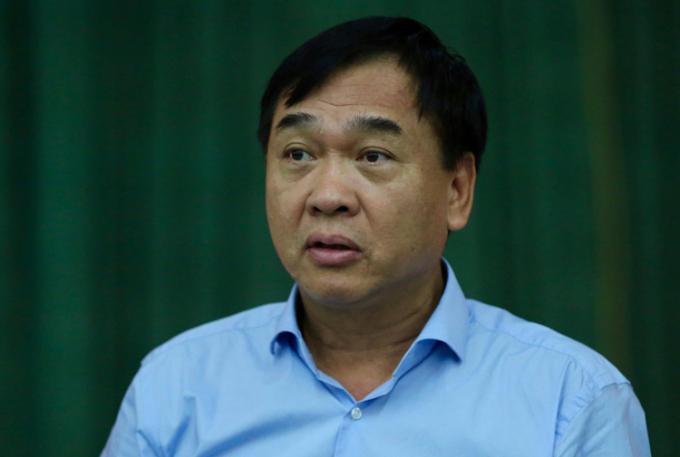 Ông Lê Văn Dục, Giám đốc Sở Xây dựng Hà Nội