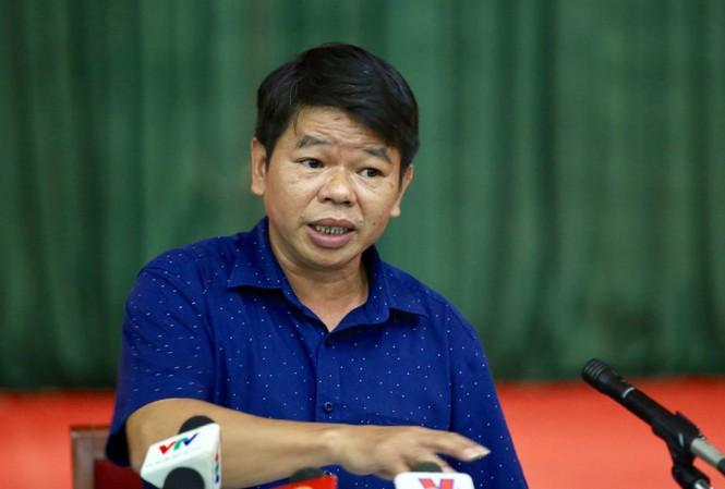 Ông Nguyễn Văn Tốn, Tổng giám đốc Công ty cổ phần kinh doanh nước sạch sông Đà (Ảnh: Tiền Phong)