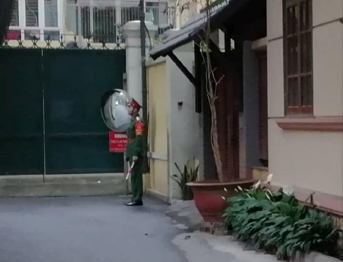 Nơi được cho là nhà riêng của ông Nguyễn Bắc Son