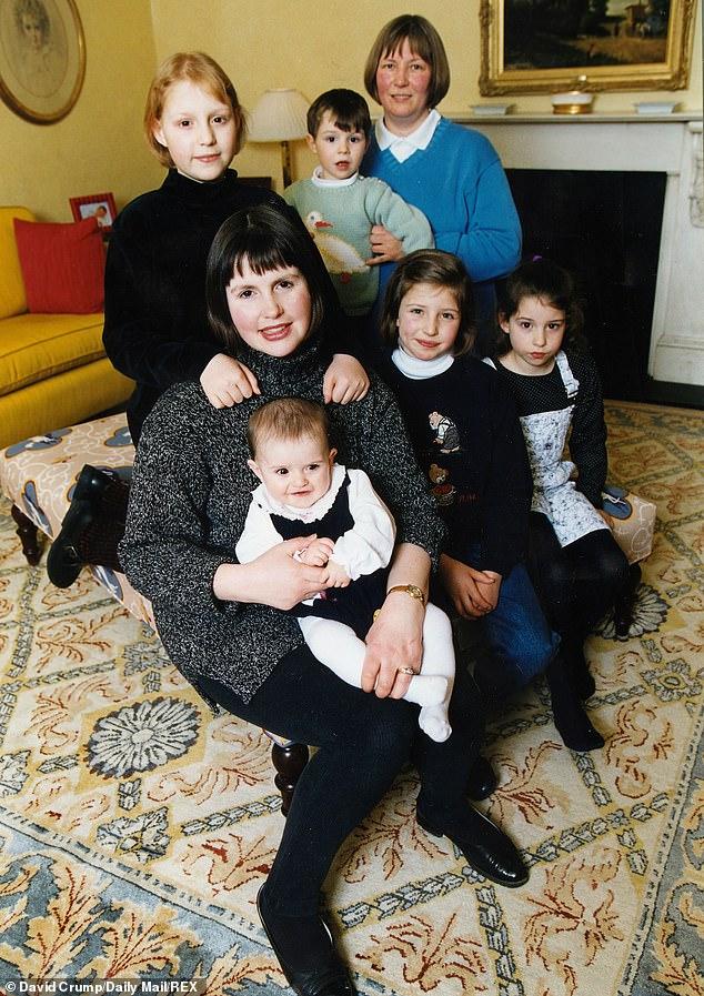 Nicola Horlick với 6 đứa con