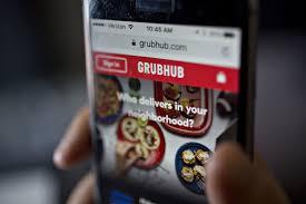 GrubHub là gã khổng lồ trong dịch vụ giao đồ ăn ở Mỹ
