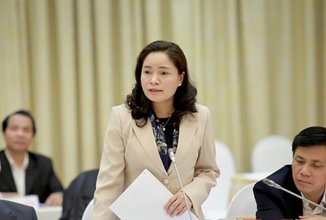 Thử trưởng Trịnh Thị Thuỷ